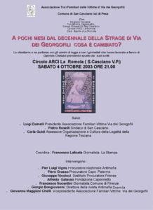 Arci La Romola 2003