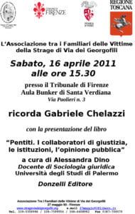 Ricordo Chelazzi Aprile 2011